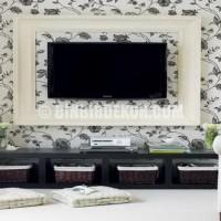 TV arkası dekorasyon uygulamaları sadece salon ve yaşam alanlarına ...