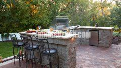 Dış mekan mutfak modelleri görselleri