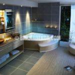Geniş ve Lüks Banyo Dekorasyonları Görselleri