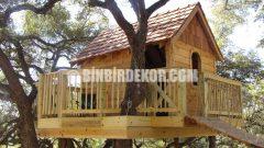 En Güzel Ağaç Evi Görselleri