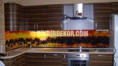Mutfak tezgah arası dekorasyon görselleri