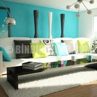 ... Kategori / İç Tasarım ve Dekorasyon / Oturma odası dekorasyonu