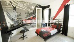 Genç erkek odası dekorasyonları görselleri