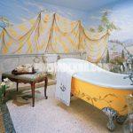 Fransız Banyo Dekorasyon Örnekleri Görselleri