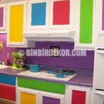 Rengarenk Mutfak Dekorasyonları