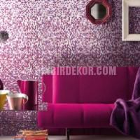 Mor ve Lila Karışımı Renklerle Salonlar