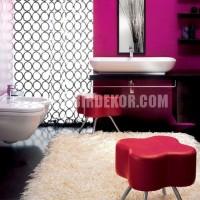 renkli oda renk dekorasyonları mor ve lila renkli oda renk
