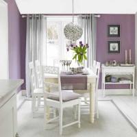 mor ve lila renkli oda renk dekorasyonları acik acik mor renkli duvar