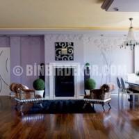 mor ve lila renk oda dekorasyonu 3