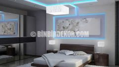 Yatak Odası Asma Tavan Fikirleri Örnekleri