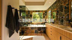 Banyolar için Taş Dekorasyon Örnekleri