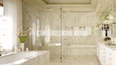 Banyolarda Mermer Zerafeti