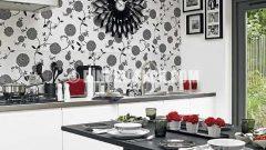 Dekoratif Mutfaklar İçin Şık Duvar Kağıtları
