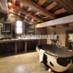 Rustik Banyo Dekorasyon Fikirleri Örnekleri