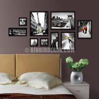 ... oturma odası yatak odası boyama duvara asılı resim IKEA kutu duvar