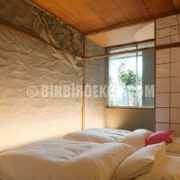 natural and old Japanese bedroom style design and decorating in LLOVE ...