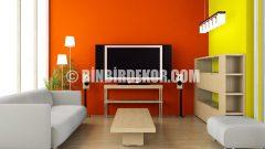 Oturma Odaları İçin Modern Duvar Renkleri