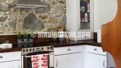 Taş Mutfak Dekorasyonu Örnekleri Görselleri