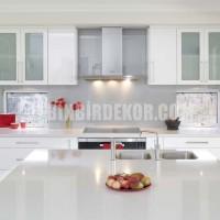 Glossy white kitchen 3 » White Kitchen Designs