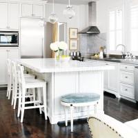 Another Gorgeous White Kitchen...