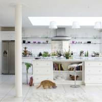White modern kitchen   Kitchen design   Decorating ideas   Image ...
