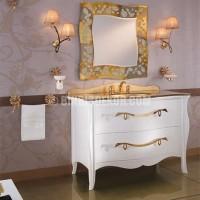 Banyolarınıza klasik banyo mobilyaları ile gelen şıklık ...