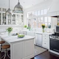 Luxury white kitchen design trend 2011 white italian kitchen