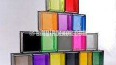 Renkli Cam Tuğlalar Şahane Ortamlar