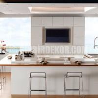 Lovely White Kitchen listed in: modern Kitchen Cabinets modern Kitchen ...
