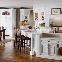 white kitchen cabinets by dandsfurniture.net