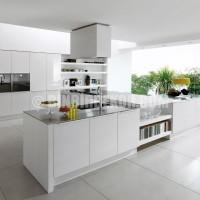 Home » Kitchen Designs from Euromobil » Alineal White Kitchen Design ...