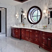marble bathroom Why Italian Style Home Decor Is So Popular