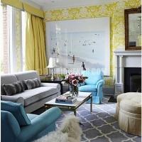 Harika turkuaz rengi salon dekorasyon modelleri. turkuaz rengi salon Önerileri