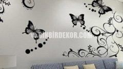 Stickerlar ile Şahane Duvar Dekorasyonları