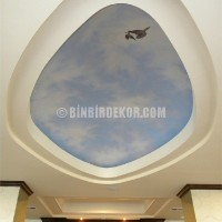 2015 Sold Original Paintings - Holiday Inn Express Ceiling Dome Mural by Galerisi