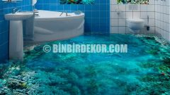 Banyo Zeminleri İçin Farklı Dekorasyon Önerileri