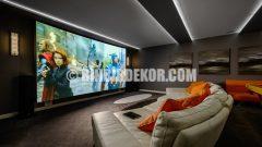 Ev Sineması Dekorasyon Örnekleri
