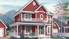 En Güzel Triblex Villa Modelleri Görselleri
