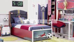 Futbol Sever Çocuk Odası (Çilek)