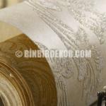 Kabartma Dokulu Silinebilir İthal Duvar Kağıtları
