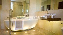 Banyo Dekorasyonunda Açık Tonlar