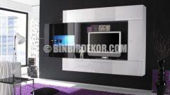 Avrupa'da TV Duvar Ünitesi Tasarımları (Meubelland)