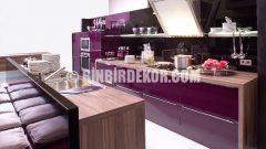 Parlak Mutfak Dolapları Estetik Mutfaklar