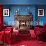 Dekorasyonda Mavi ve Tonlarının Kullanımı