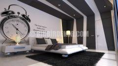 Ev Dekorasyonunda Siyah Beyaz Ahengi