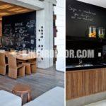 Mutfak Dekorasyonunda Kara Tahta Modası