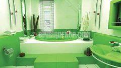 Banyo Dekorasyonunda Sıradışı Renkler
