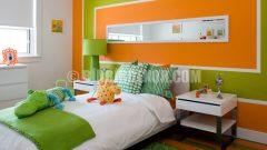 Değişik Duvar Renkleri İle Ev Dekorasyonu