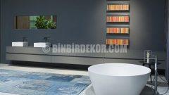 İtalya'dan Tasarım Harikası Banyo Dolapları