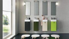 Çok Değişik Banyo Dolabı Tasarımları